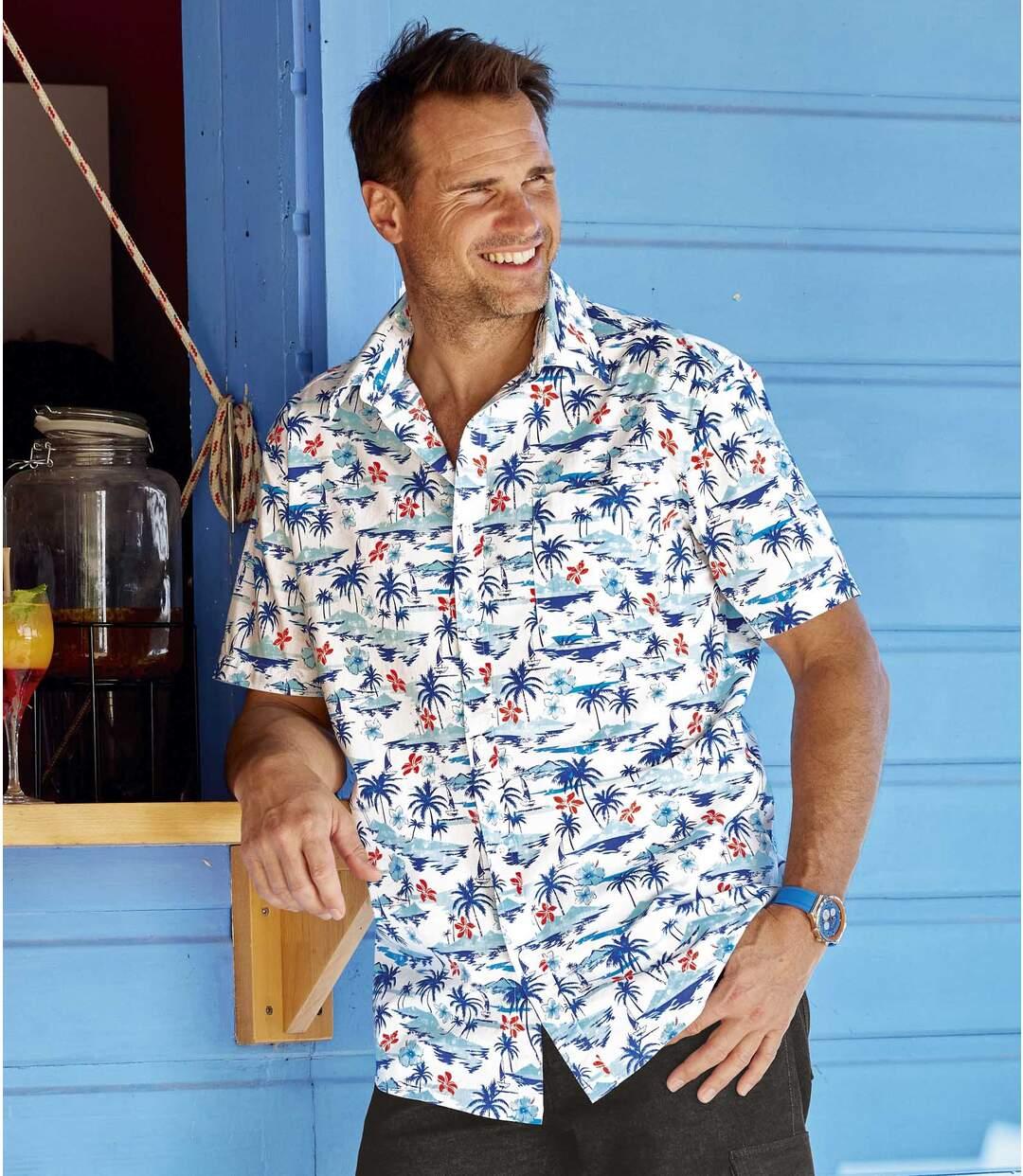 Hawaïaans overhemd Atlas For Men
