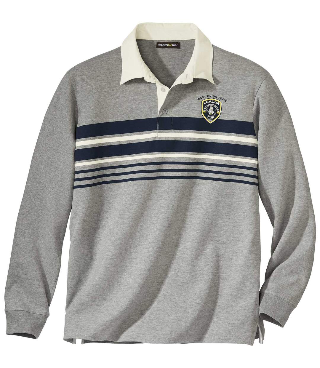 Poloshirt Union League im Rugby-Stil