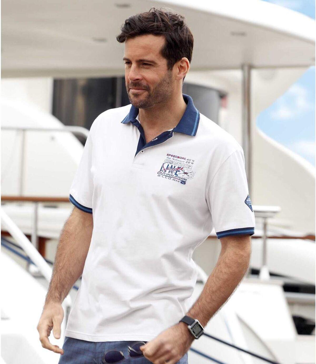 Zestaw 2 polo Skipper Atlas For Men