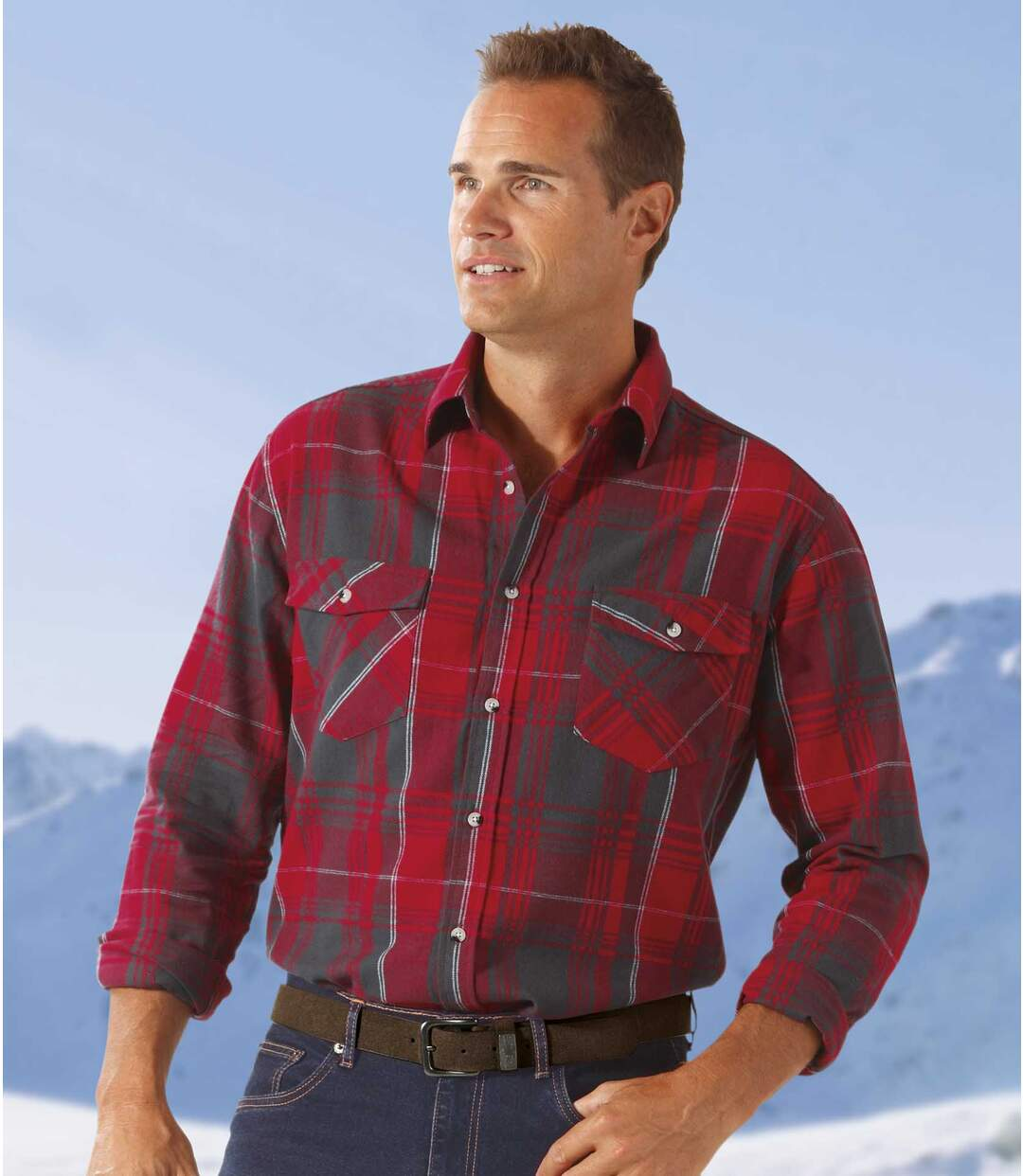 Górska flanelowa koszula