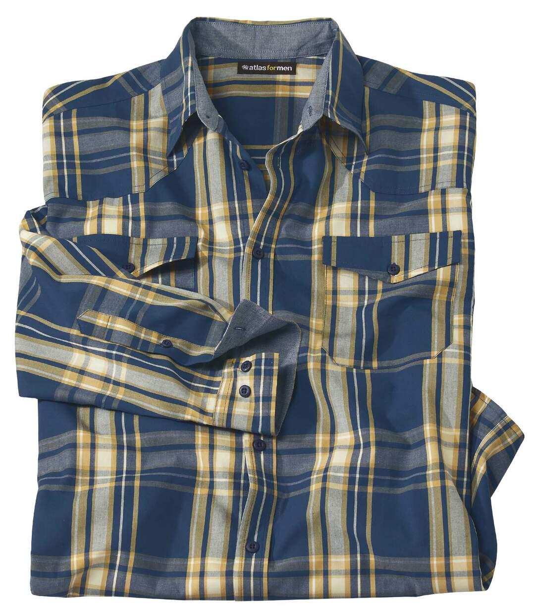 Kostkovaná košile Blue Hill Atlas For Men