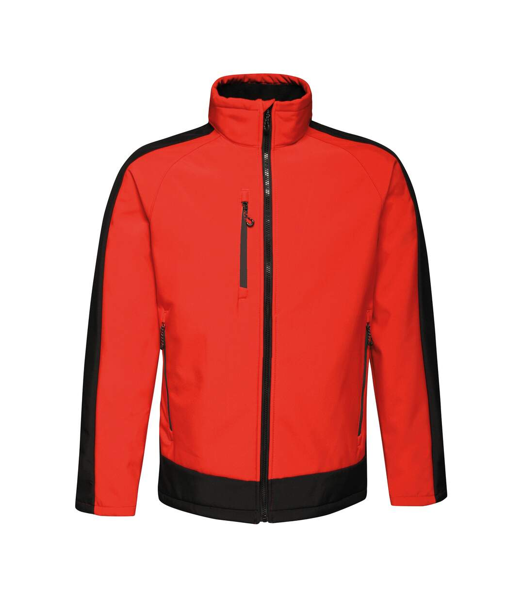 Regatta Contrast Mens 3-Layer Printable Softshell Jacket (Classic Red/Black) - UTRW6355