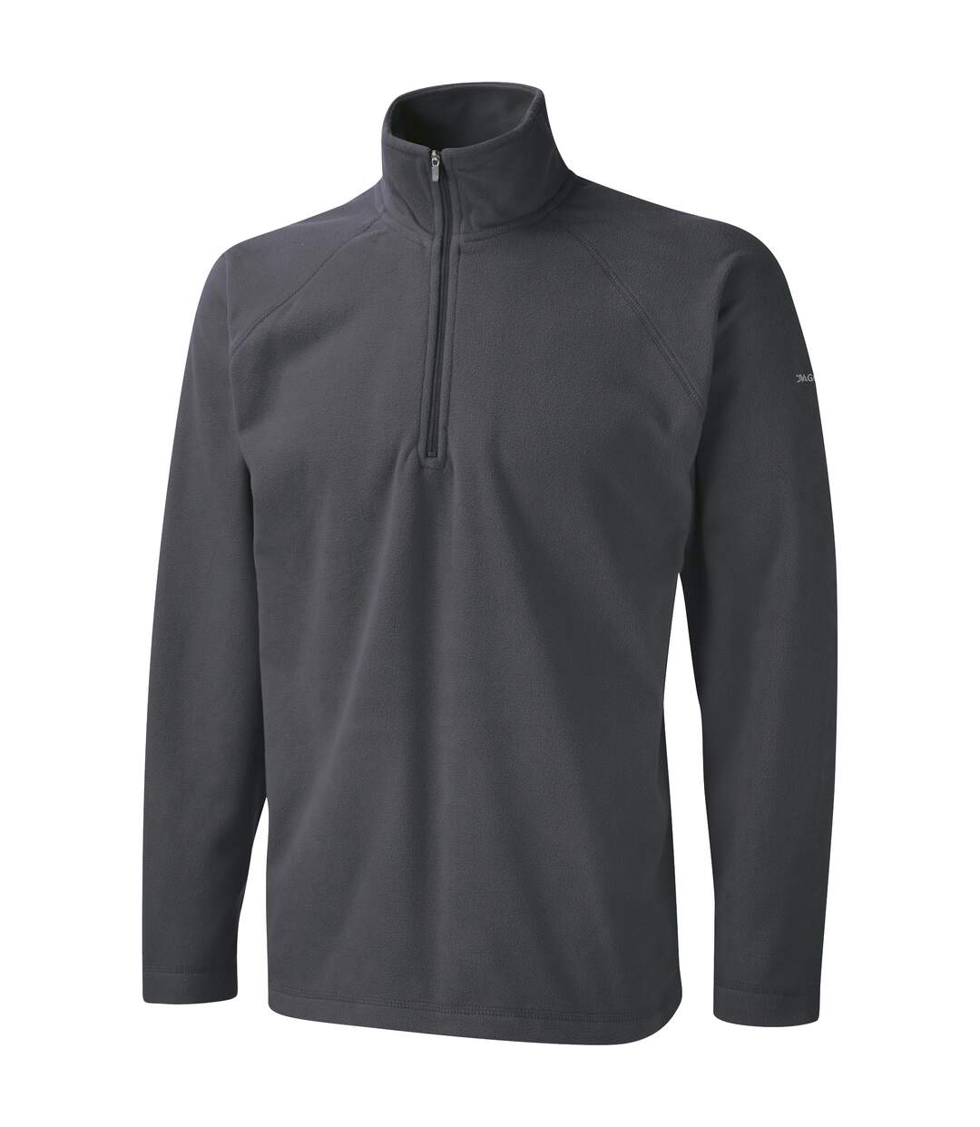 Craghoppers Mens Basecamp Microfleece FZ Half Zip Fleece Top (Navy) - UTRW366