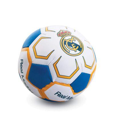 Real Madrid CF Official  - Mini ballon souple (Blanc / bleu / jaune) (Taille unique) - UTSG10802