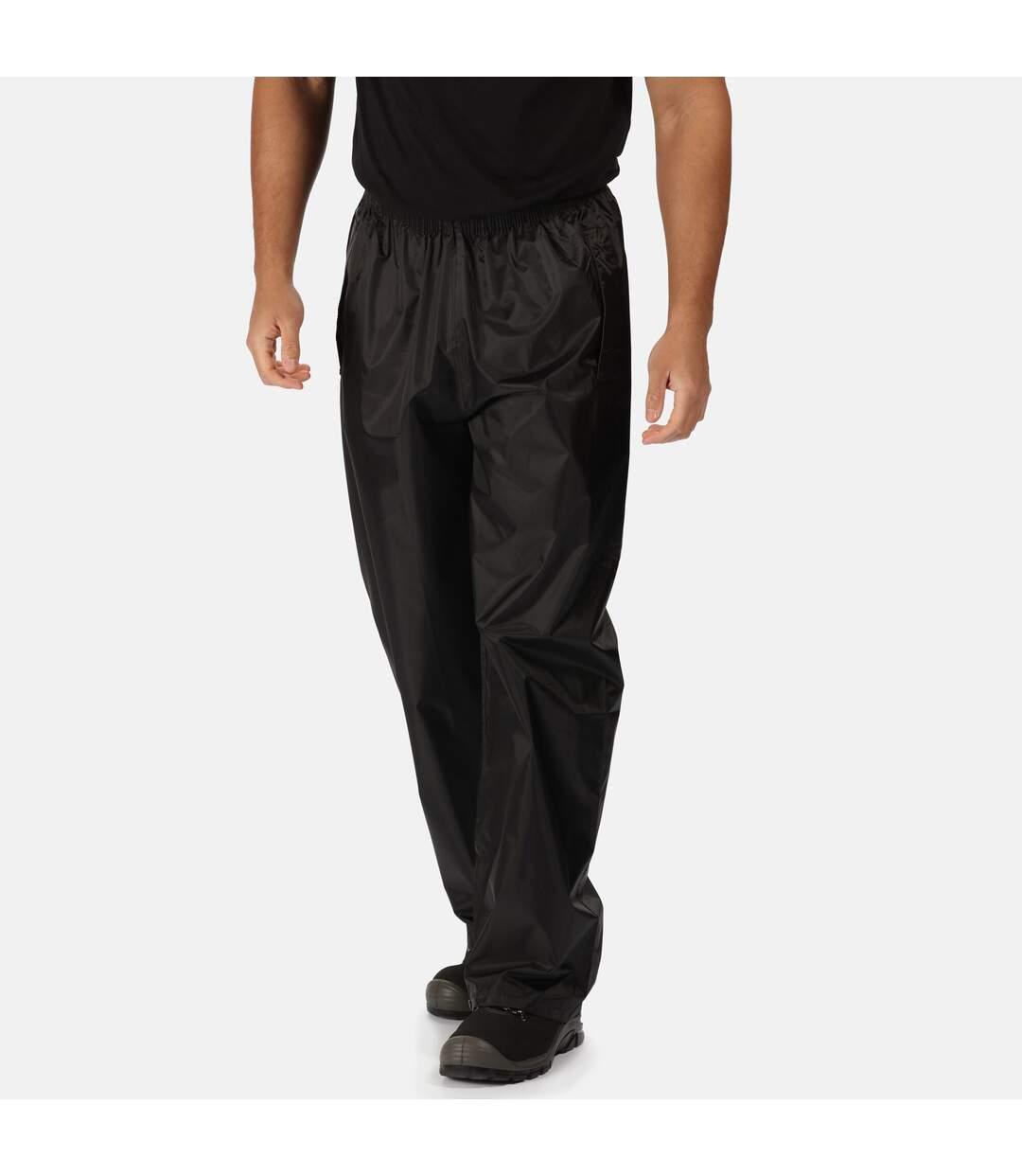 Regatta Professional Mens Pro Stormbreaker Waterproof Overtrousers (Black) - UTRG2375