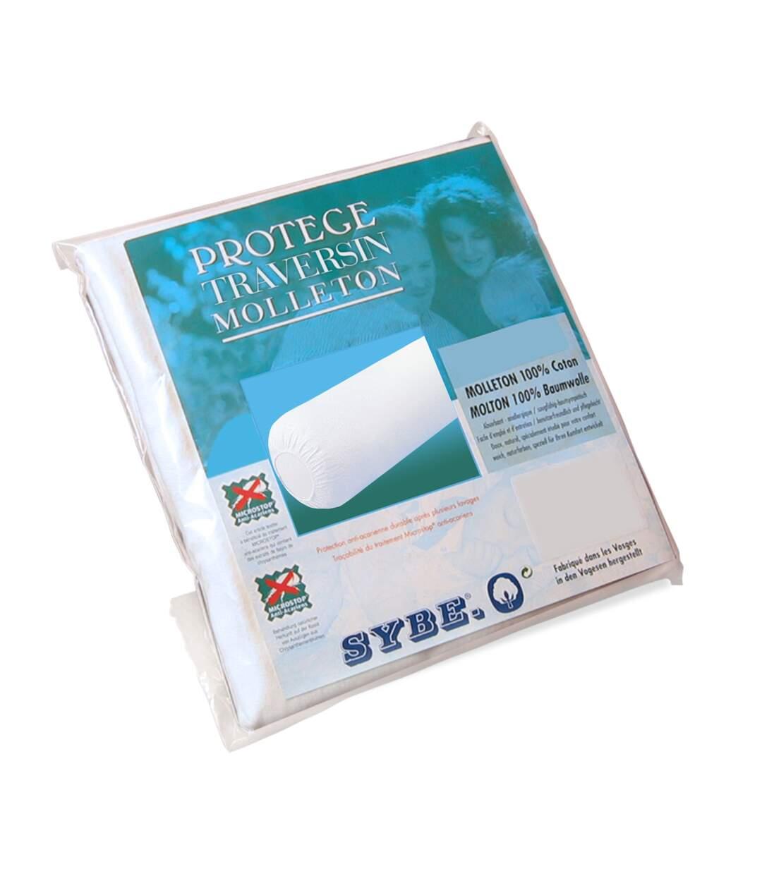 Housse de Protection de traversin absorbante Antonin Blanc 120 cm