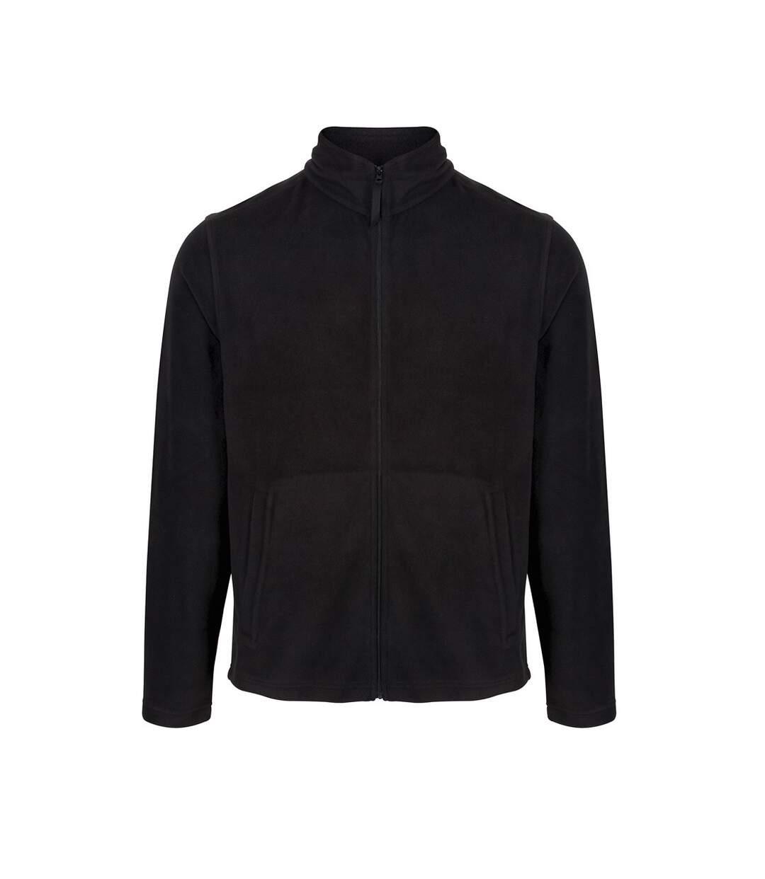 Regatta Professional Mens Classic Micro Fleece Jacket (Black) - UTPC4050