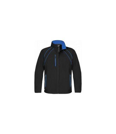 Stormtech - Veste hydrofuge coupe-vent - Homme (Noir/Bleu roi) - UTBC1169