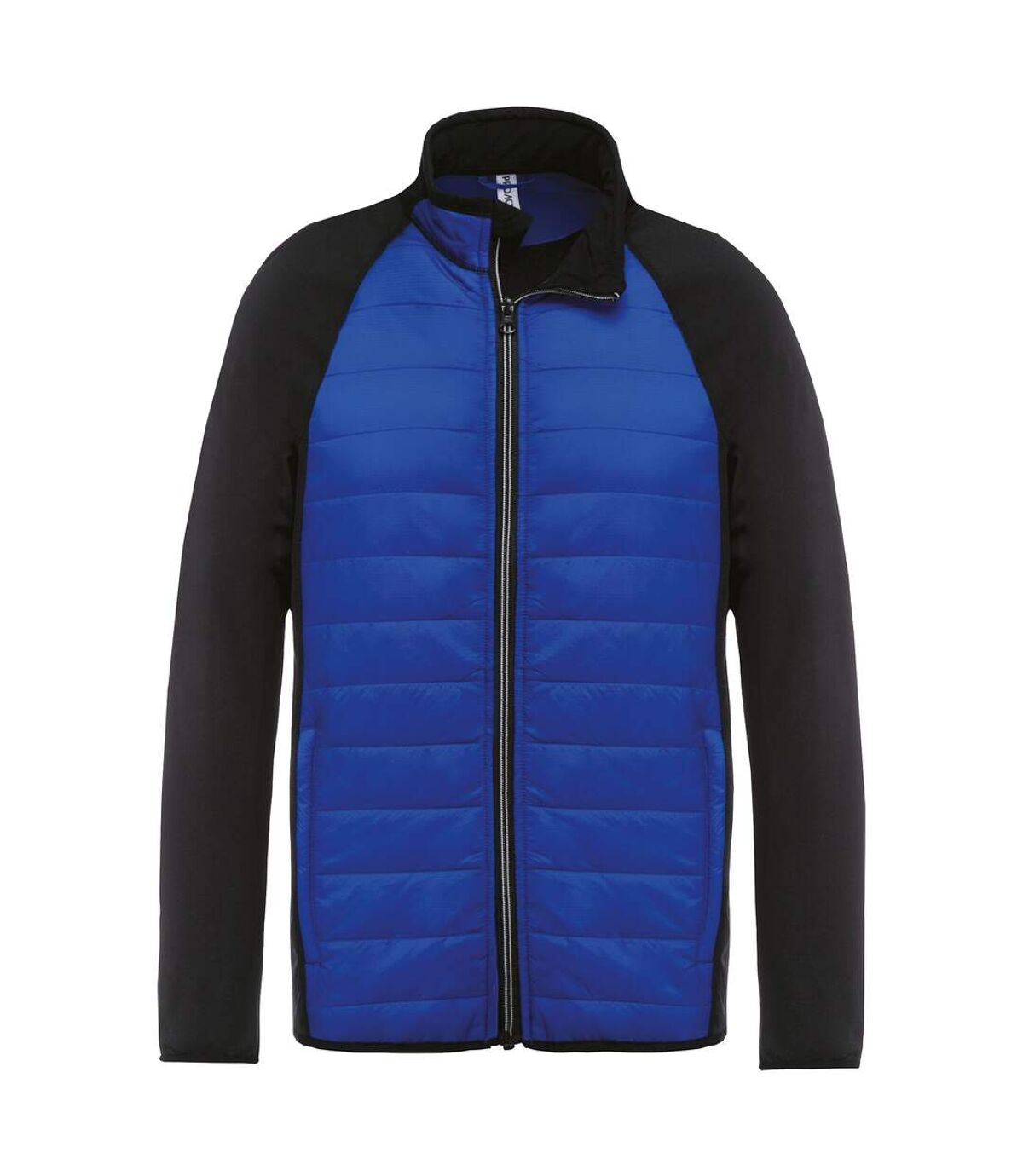 Kariban Proact Mens Dual Fabric Sports Jacket (Dark Royal/ Black) - UTRW6166