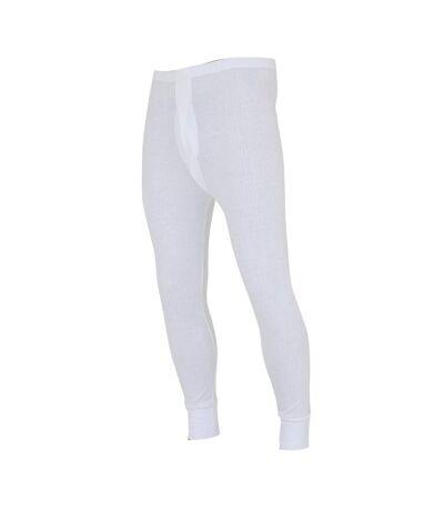 FLOSO - Sous-pantalon thermique - Homme (Blanc) - UTTHERM20