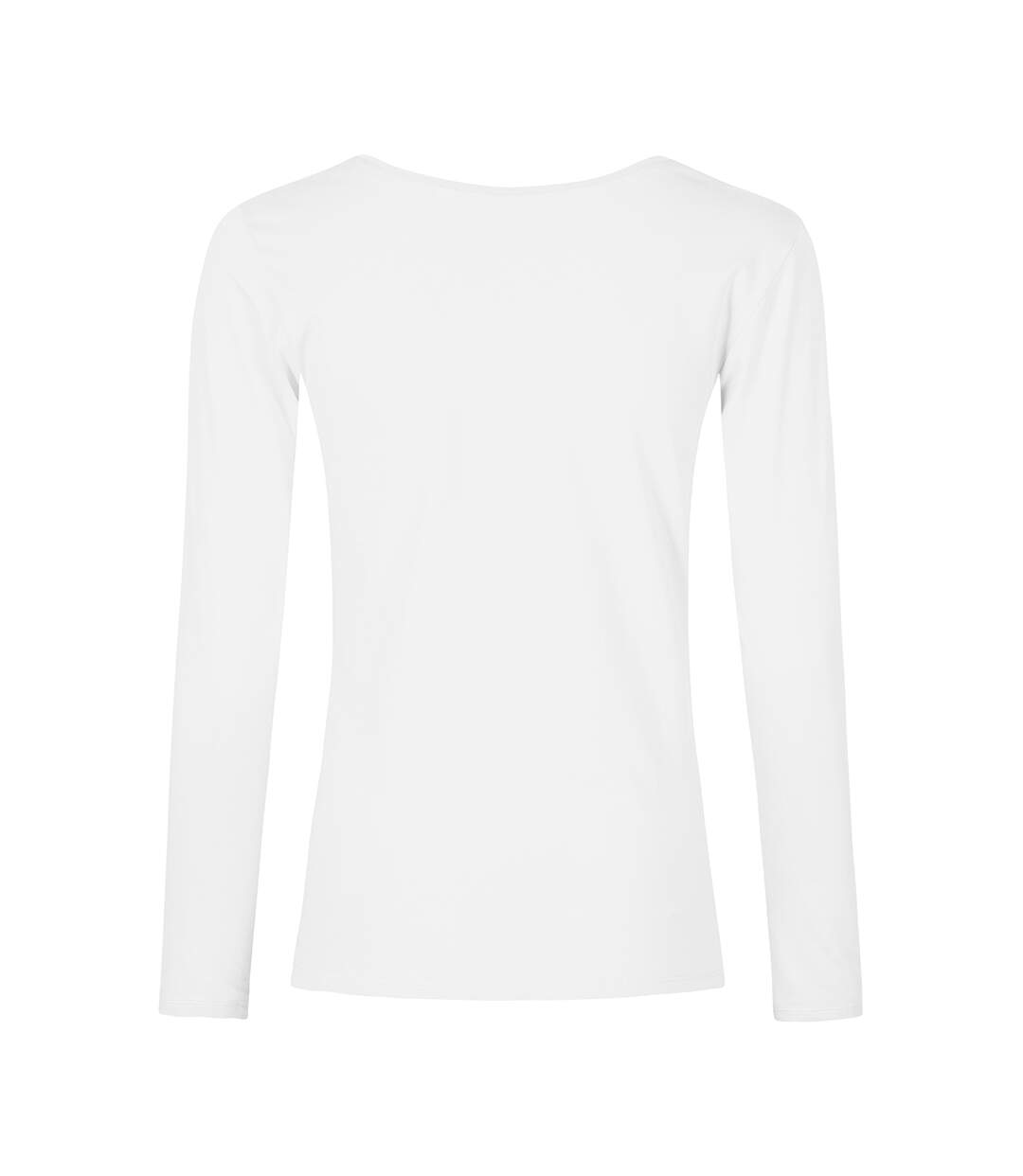 T-shirt manches longues col rond grandes tailles Femmes