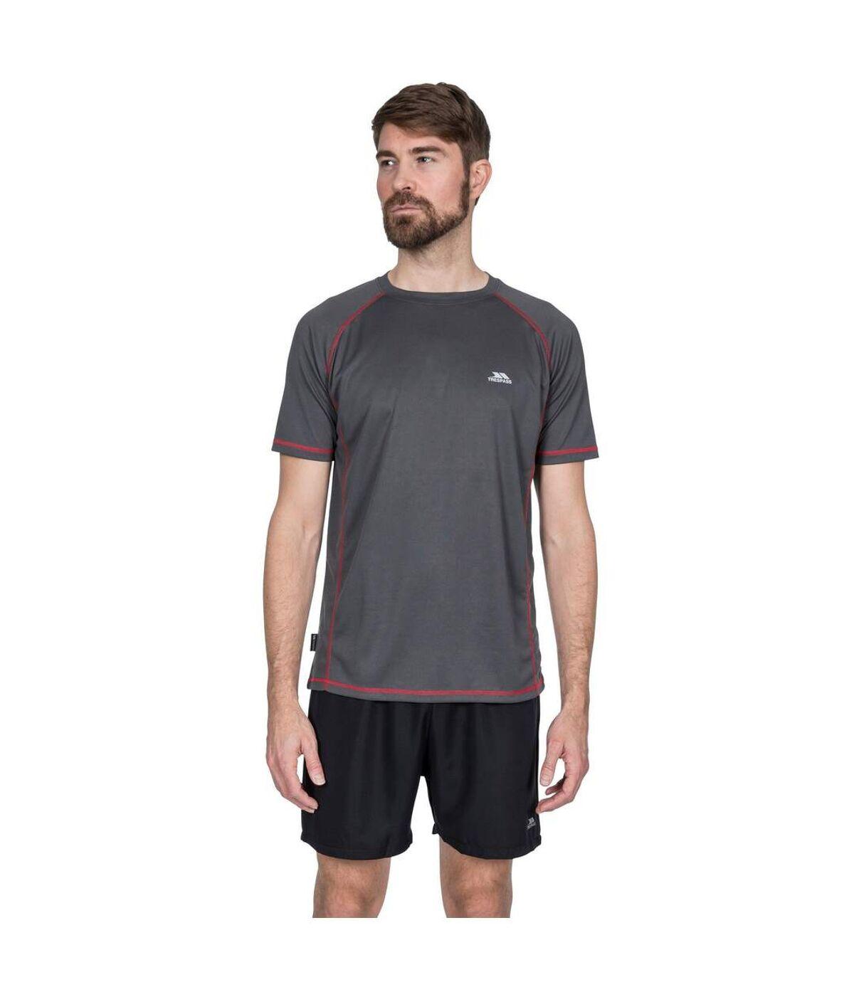 Trespass Mens Albert Active Short Sleeved T-Shirt (Blue) - UTTP4489