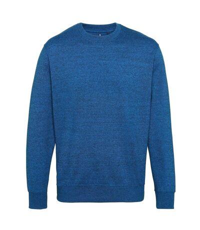 Asquith & Fox Mens Cotton Rich Twisted Yarn Sweatshirt (Sapphire/Black) - UTRW5187