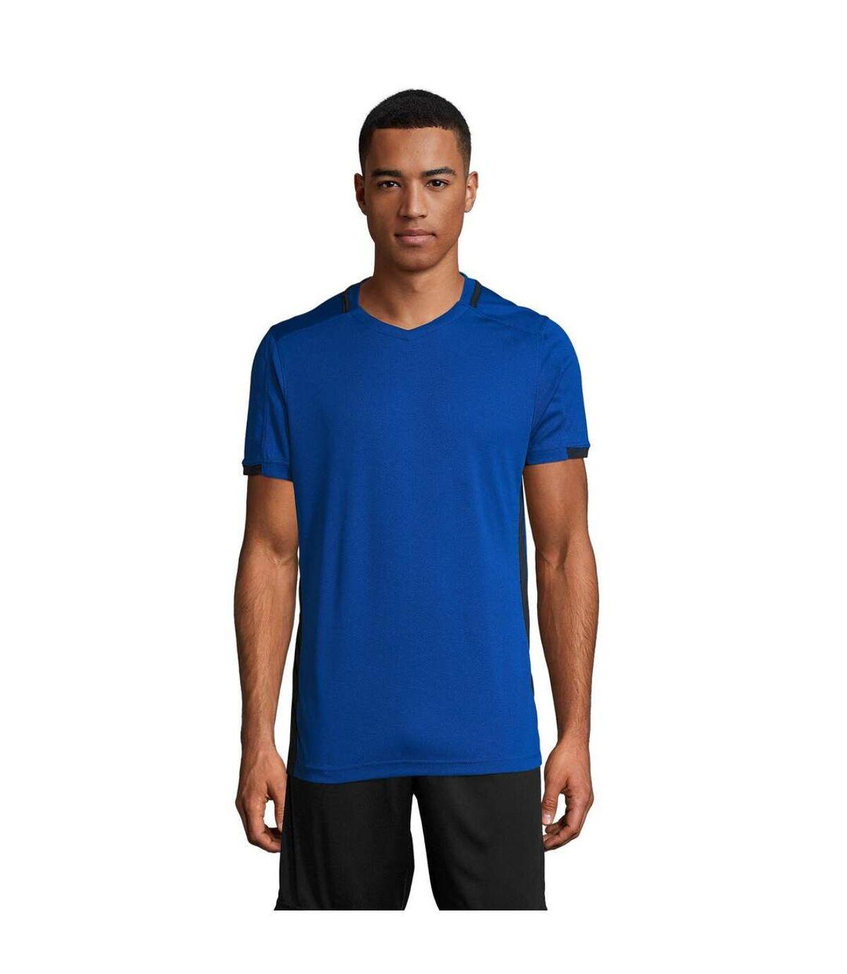 Sols Classico- T-Shirt De Football - Homme (Bleu roi/Bleu marine) - UTPC2787