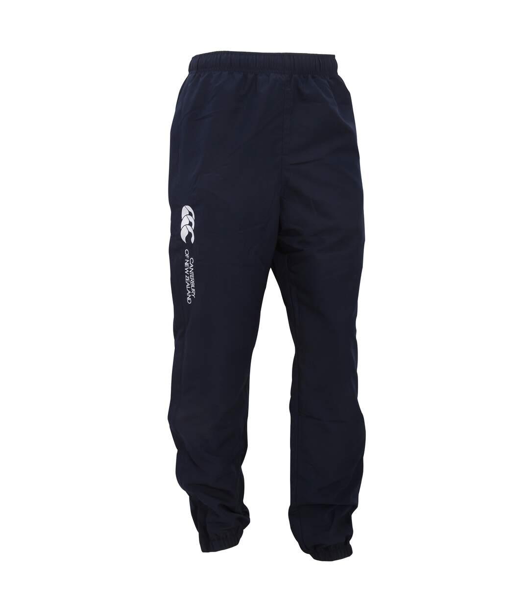 Canterbury Mens Stadium Cuffed Elasticated Sports Trousers (Navy) - UTPC2491