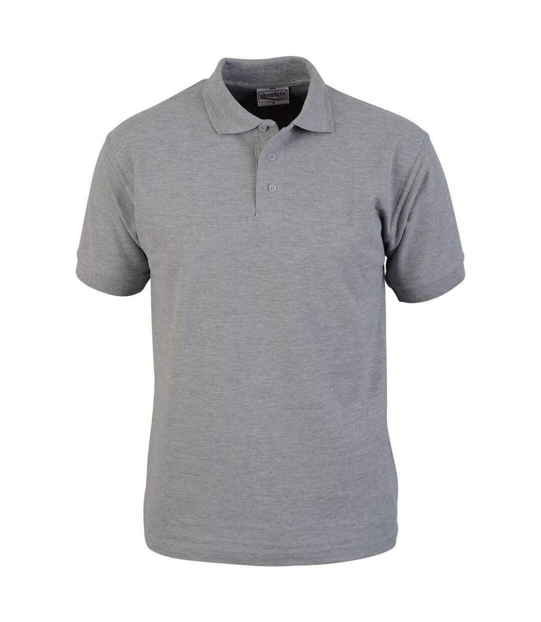 Absolute Apparel Mens Precision Polo (Sport Grey) - UTAB105