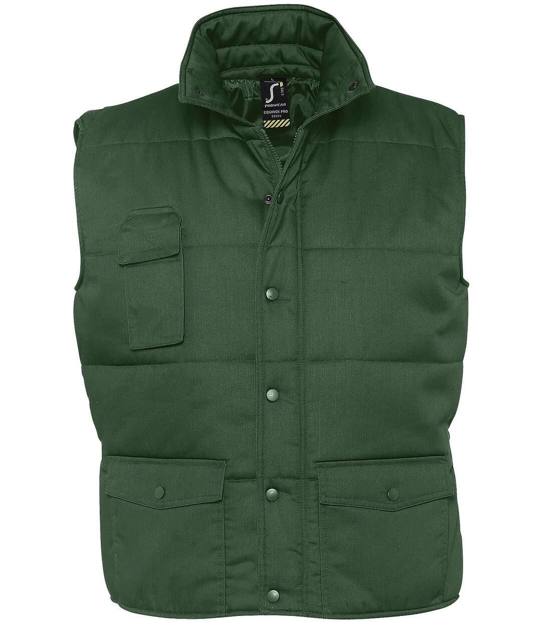 Veste sans manches matelassée - bodywarmer workwear - PRO 80503 - vert