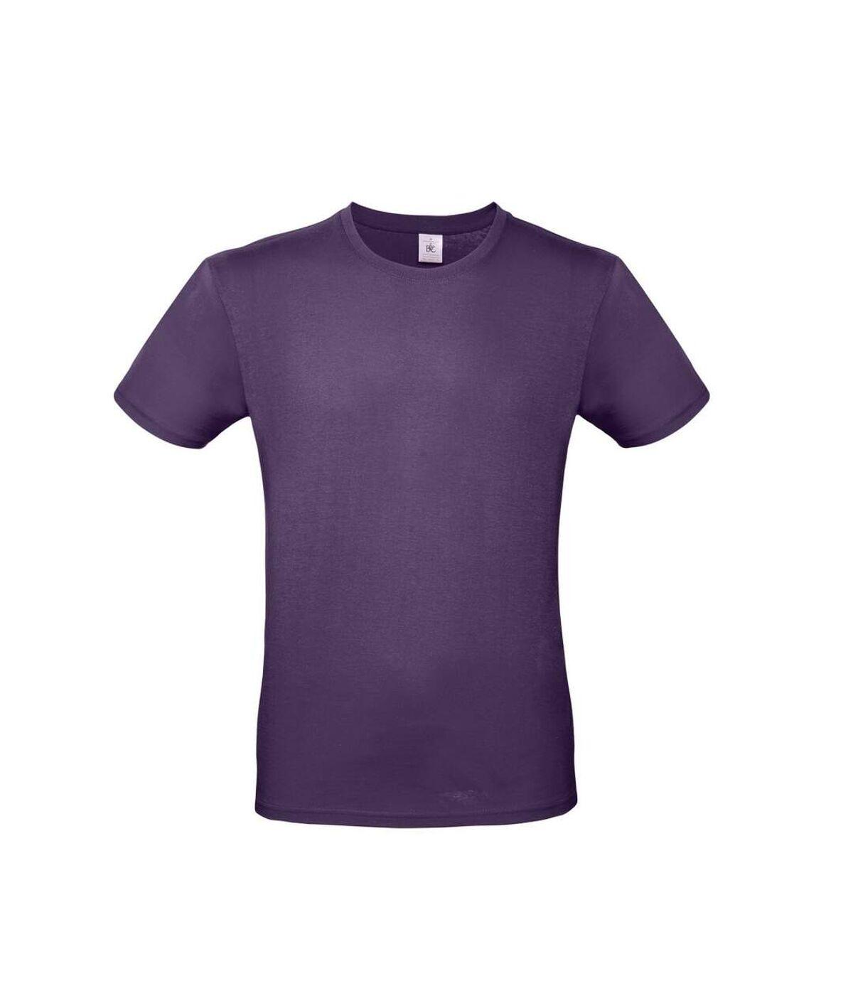 B&C Mens #E150 Tee (Radiant Purple) - UTBC3910