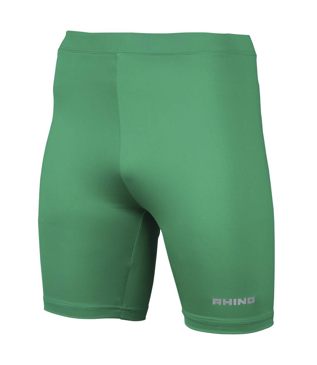 Rhino Mens Sports Base Layer Shorts (Green) - UTRW1278