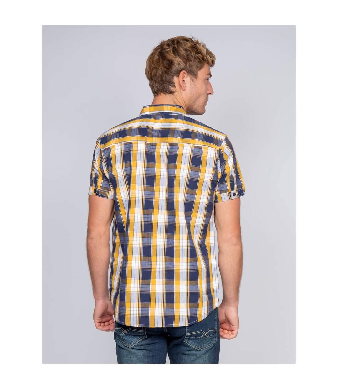 Chemise manches courtes carreaux DELLOW - RITCHIE