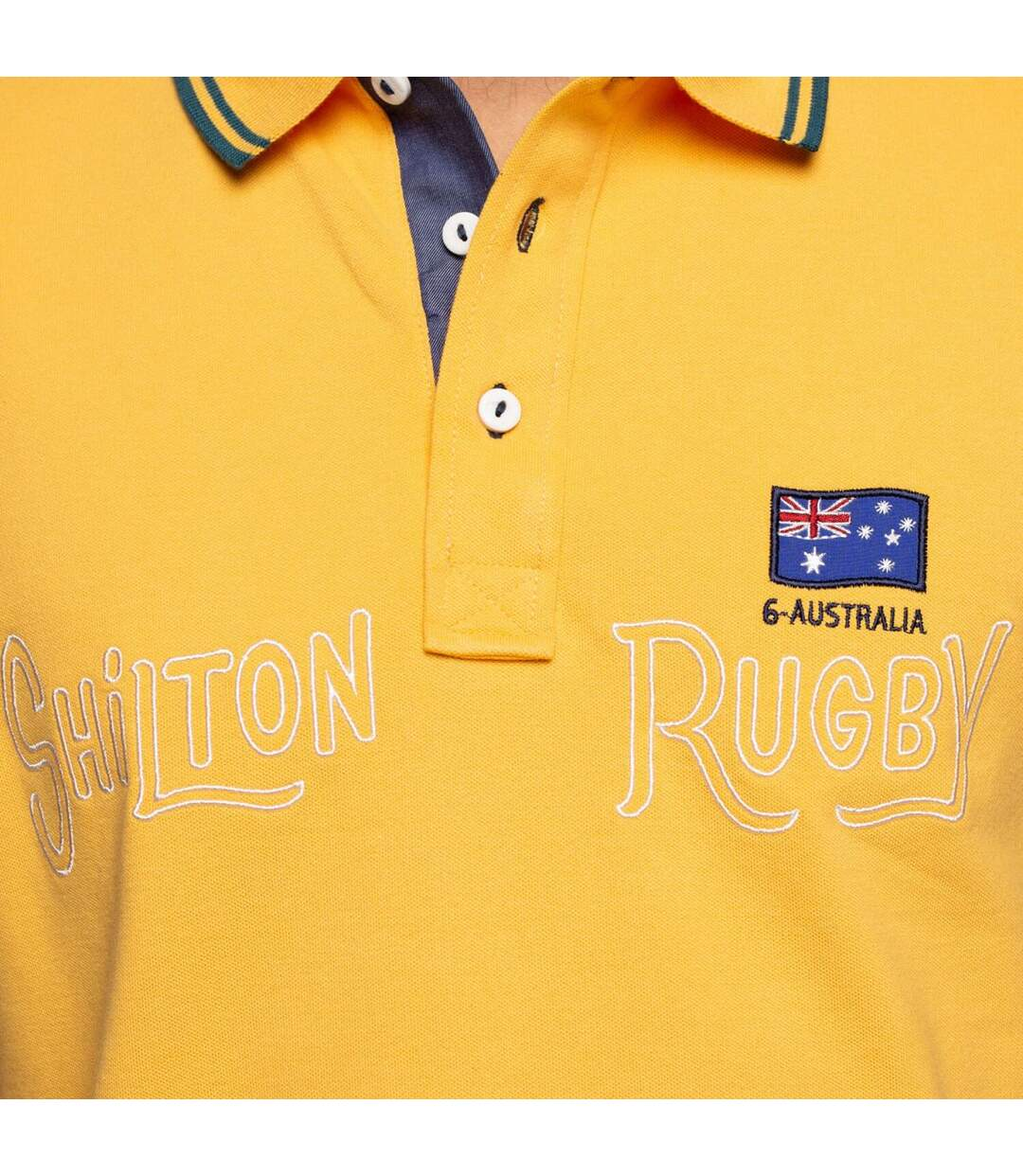 Polo rugby Australia manches courtes