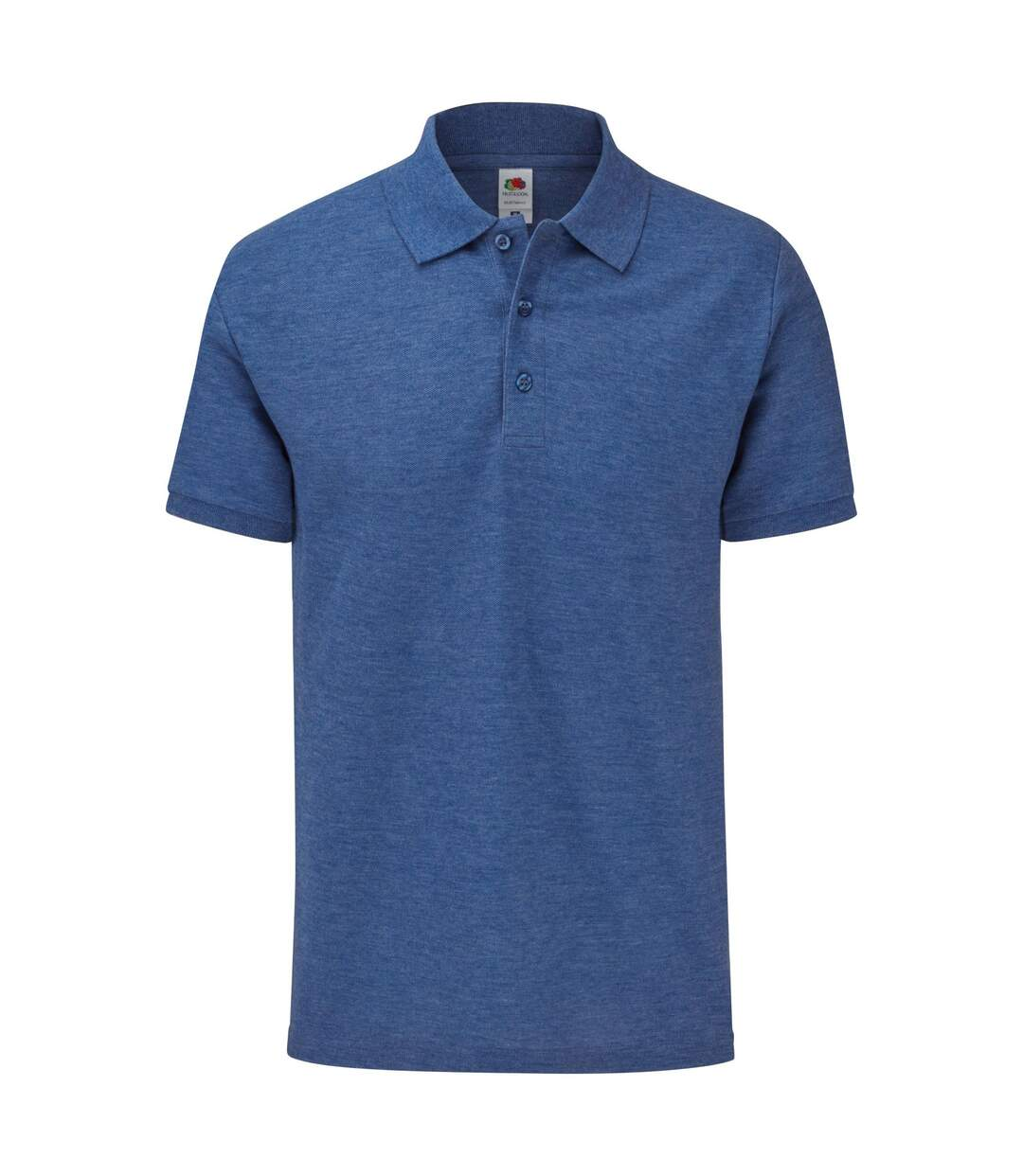 Fruit of the Loom Mens Tailored Polo Shirt (Royal Blue Heather) - UTBC4757