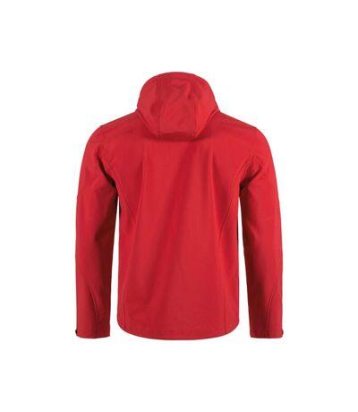 Stedman - Softshell à capuche ACTIVE (Rouge) - UTAB308