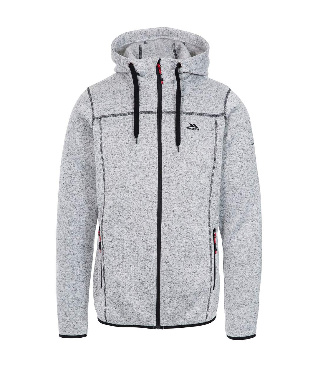Trespass Mens Odeno Fleece Jacket (Ghost Marl) - UTTP4374
