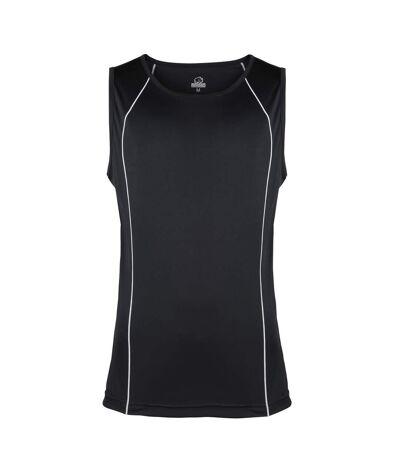 Rhino Mens Rio Sport Rugby Vest (Lime/ Black) - UTRW4413