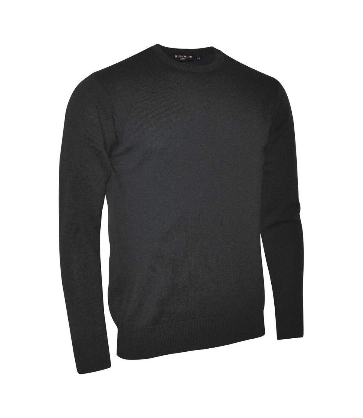 Glenmuir Morar Mens Crew Neck Sweater (Bordeaux) - UTRW516