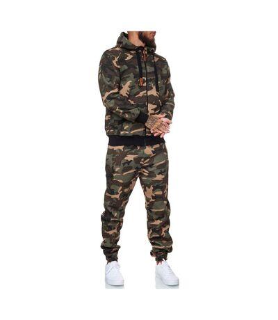 Survêtement homme camouflage Survêt 13112 vert