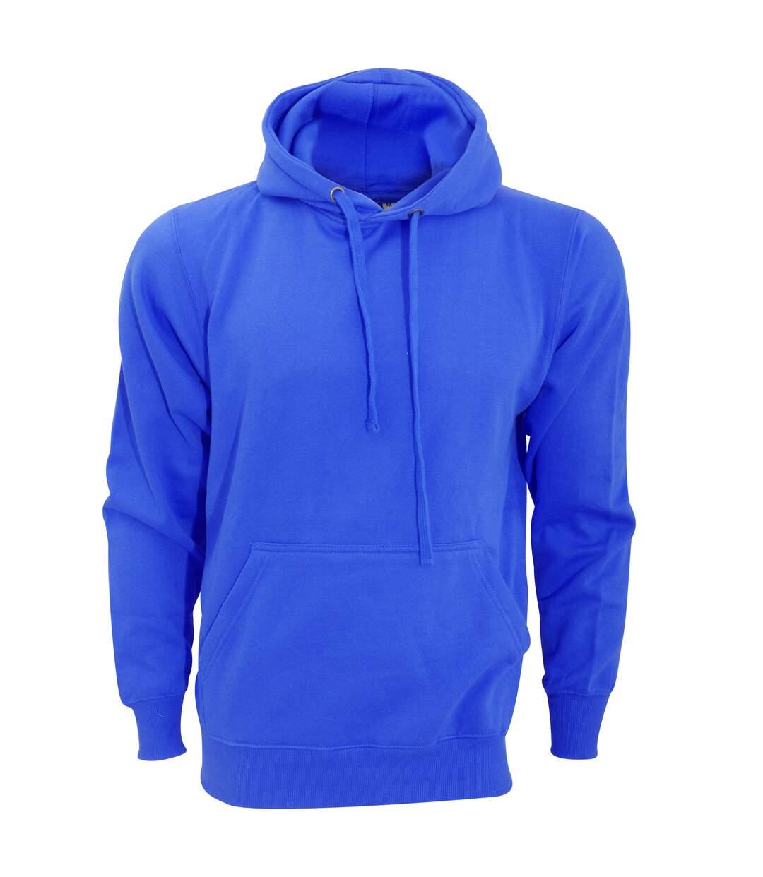 FDM Unisex Tagless Hooded Sweatshirt / Hoodie (Royal) - UTBC2031