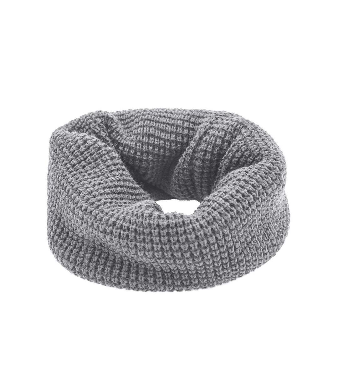 Echarpe - Tour de cou adulte - Taille unique - MB7314 - gris clair