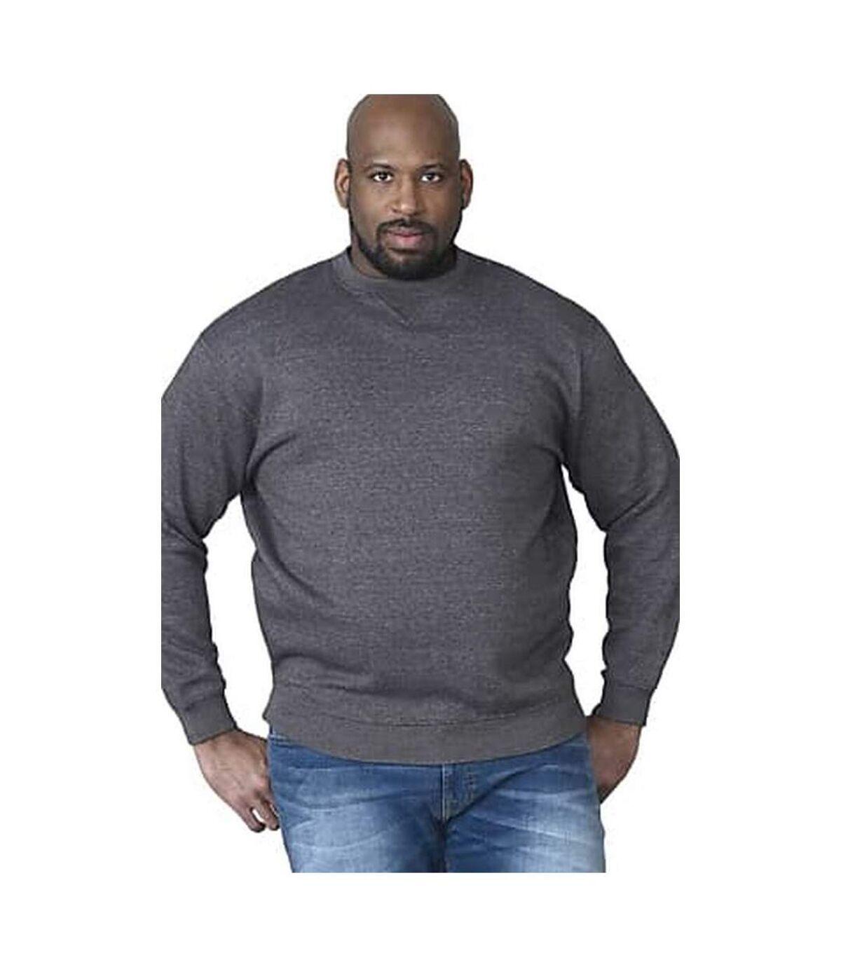 Duke Mens Rockford Kingsize Sweat Crew Neck Jumper (Grey) - UTDC105