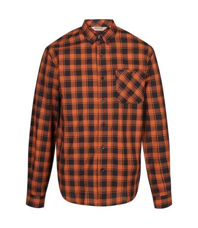 Regatta - Chemise manches longues LAZARE - Homme (Orange feu) - UTRG4716