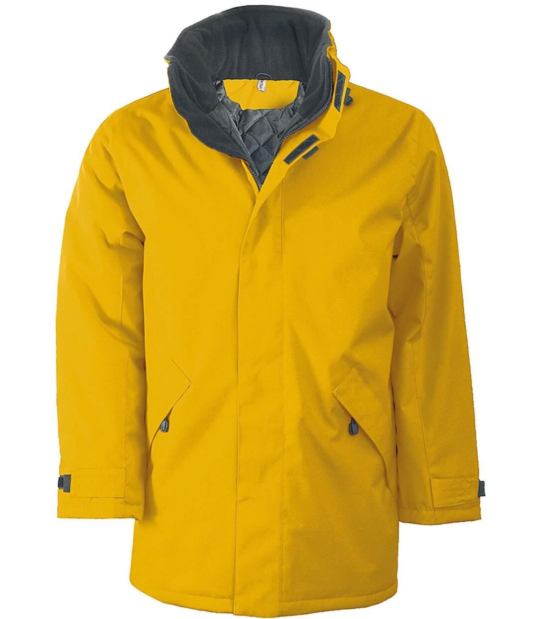 Parka Homme doublure matelassée - K677 - jaune