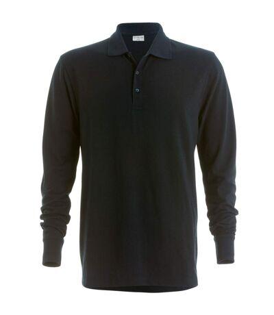Kustom Kit Mens Pique Long Sleeve Polo Shirt (Navy) - UTRW4512
