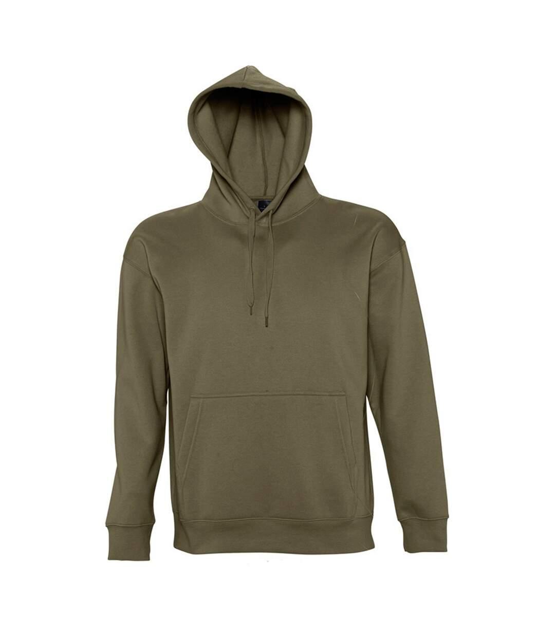 Sols Slam - Sweatshirt À Capuche - Homme (Vert armée) - UTPC381