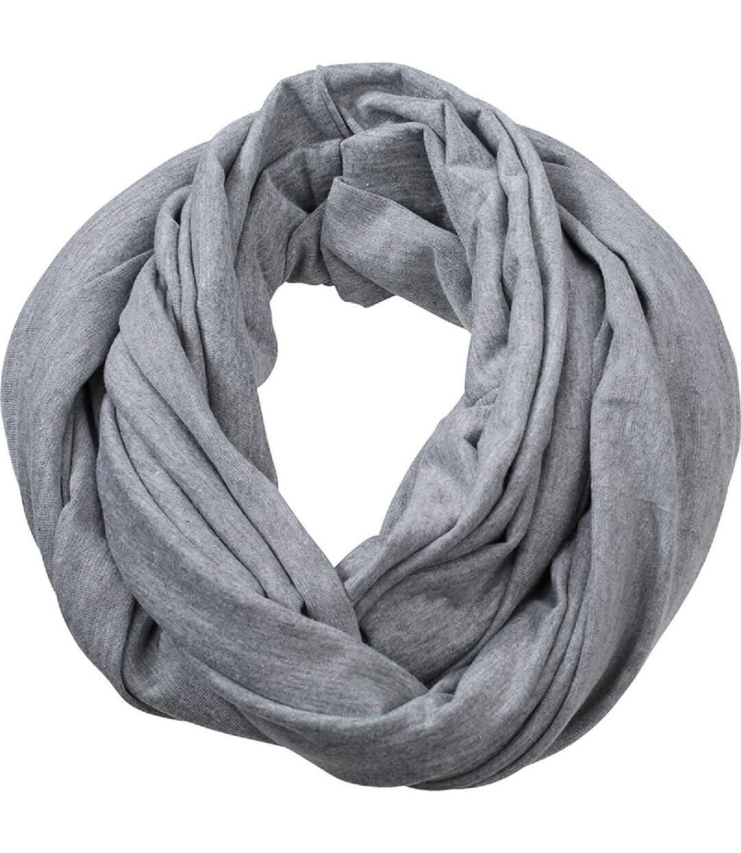 Echarpe - Tour de cou adulte - MB6578 - gris clair mélange