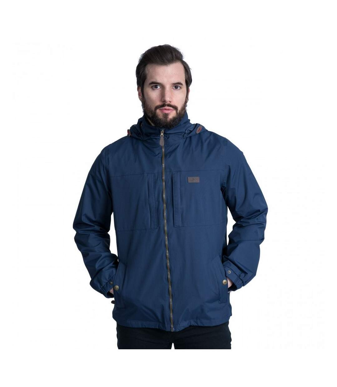 Trespass Mens Cartwright Waterproof Jacket (Navy) - UTTP4117