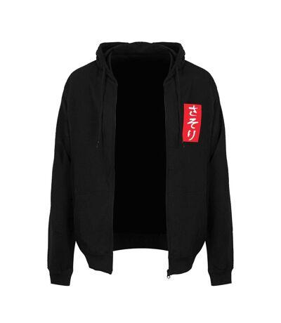 Unorthodox Collective Mens Oriental Scorpion Full Zip Hoodie (Black/White) - UTGR2822