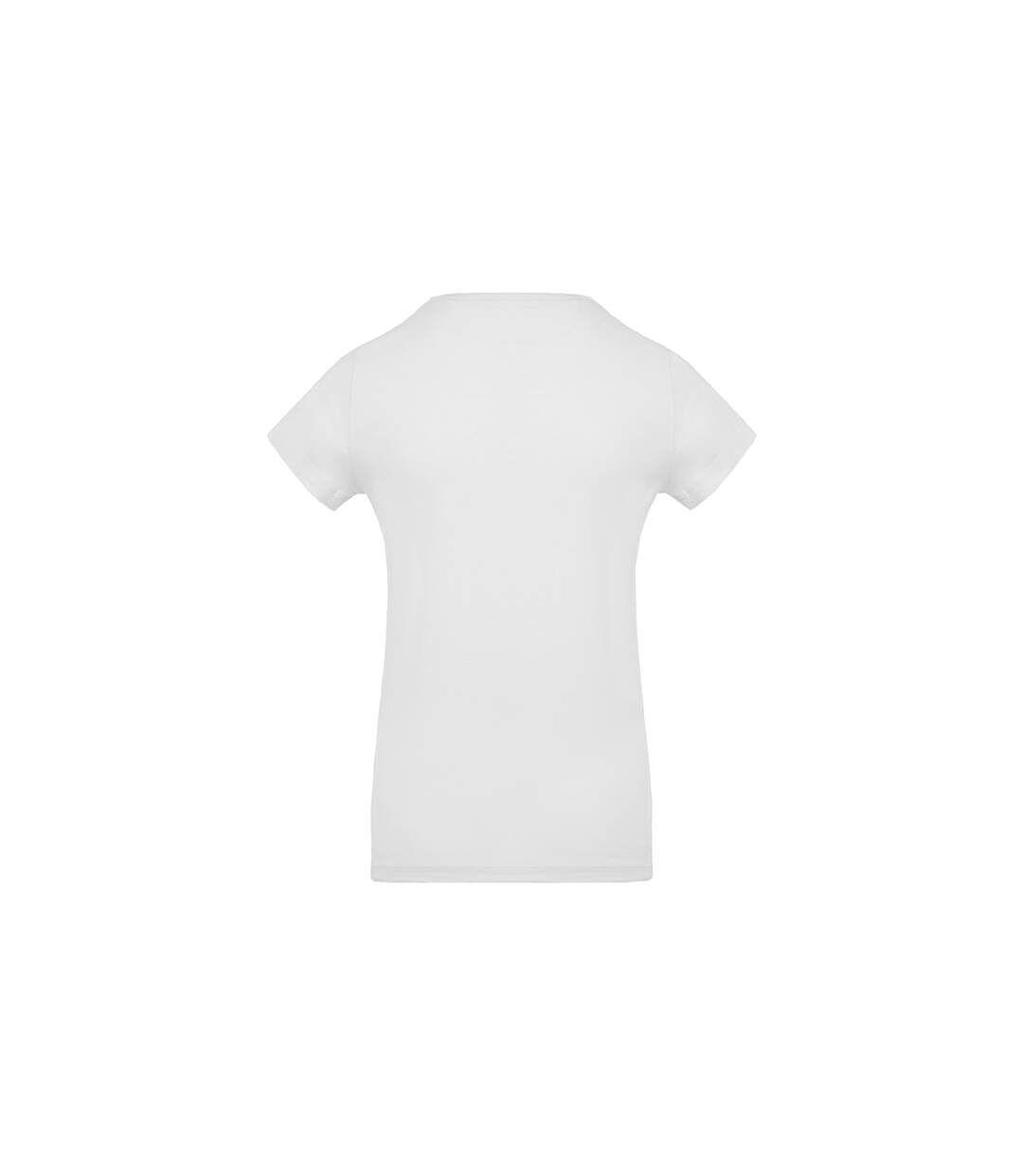 T-shirt col rond coton bio