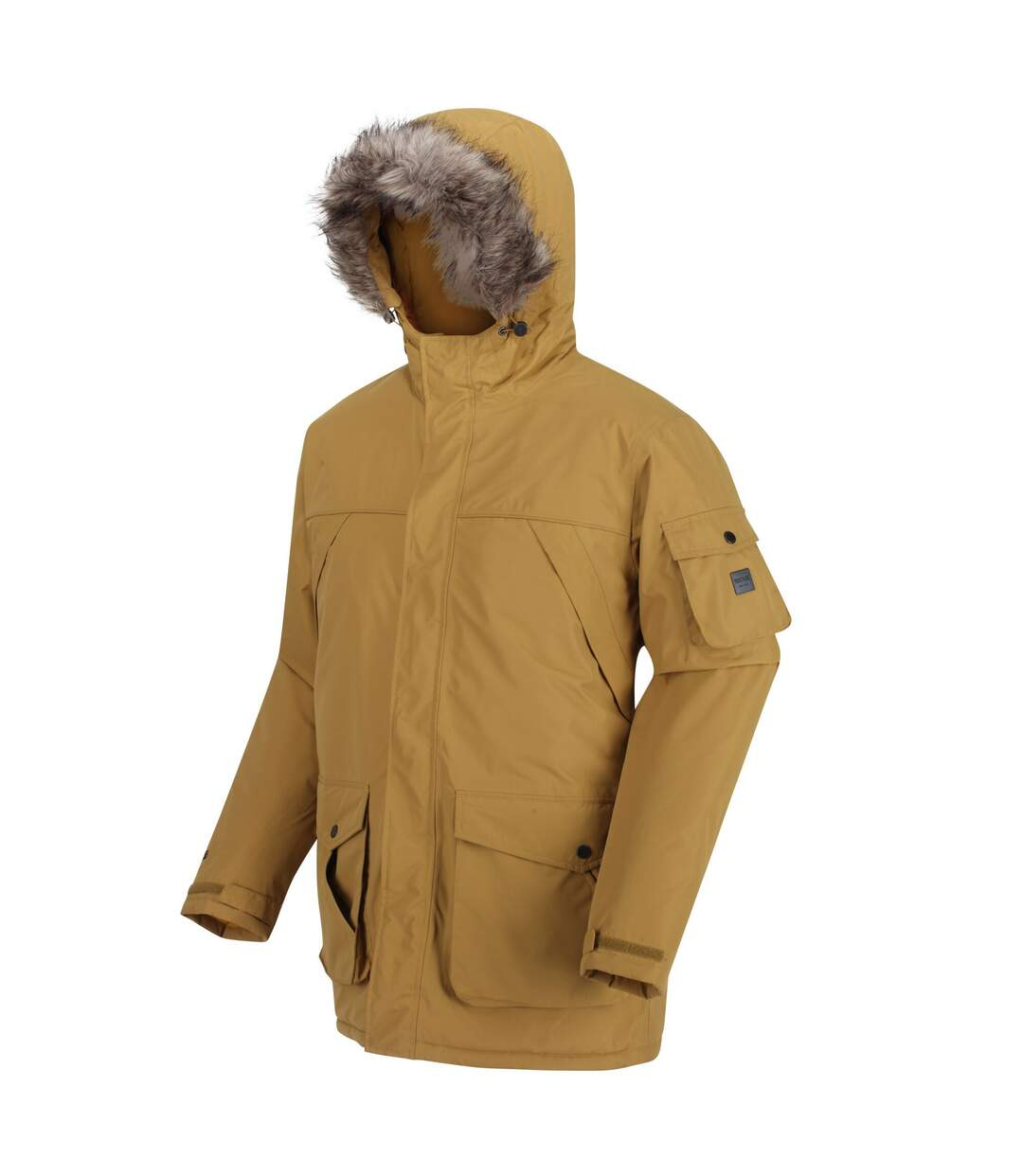 Regatta Mens Salinger II Faux Fur Insulated Parka (Bronze) - UTRG5301