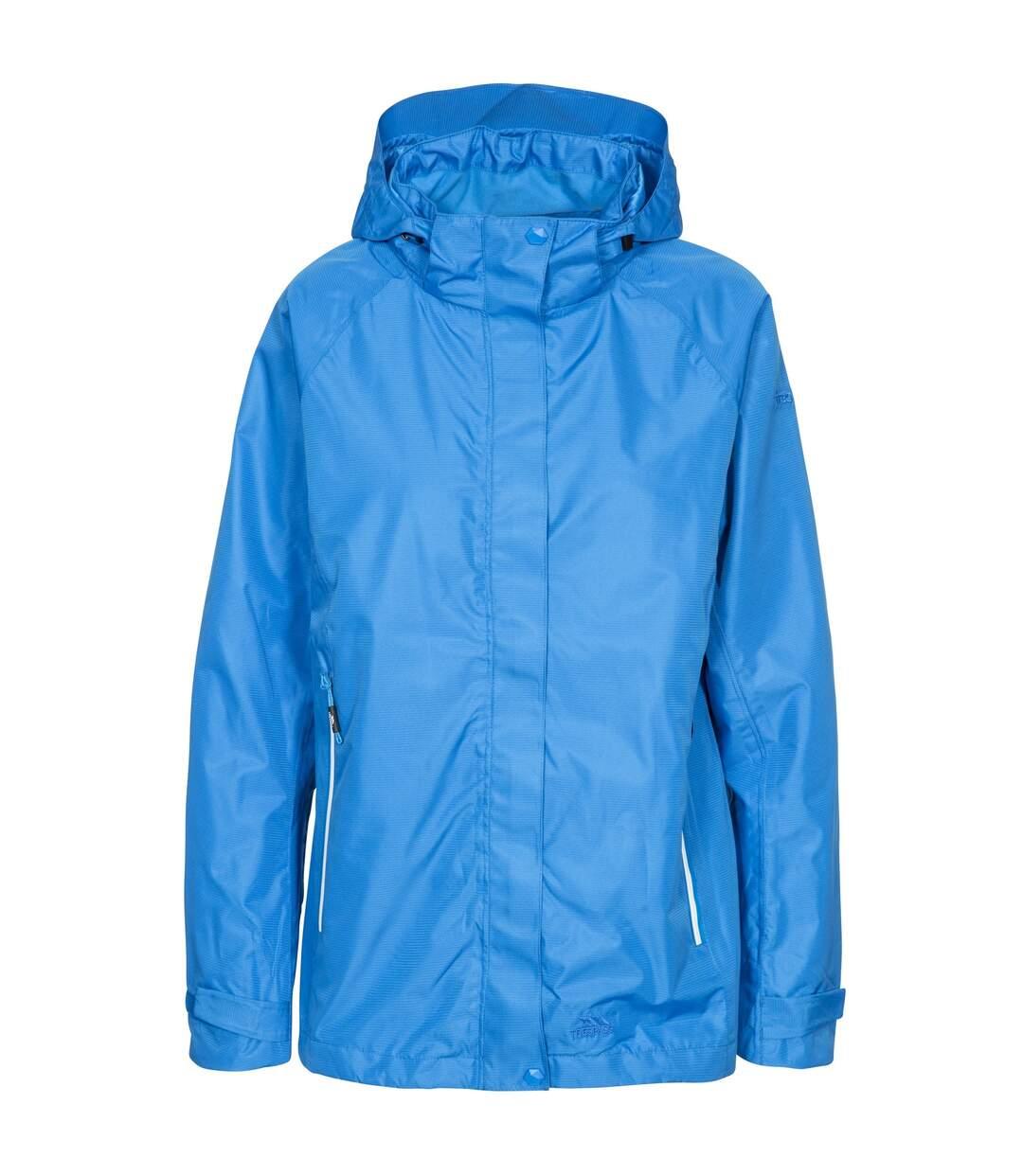 Trespass Womens/Ladies Review Waterproof Jacket (Vibrant Blue) - UTTP4617