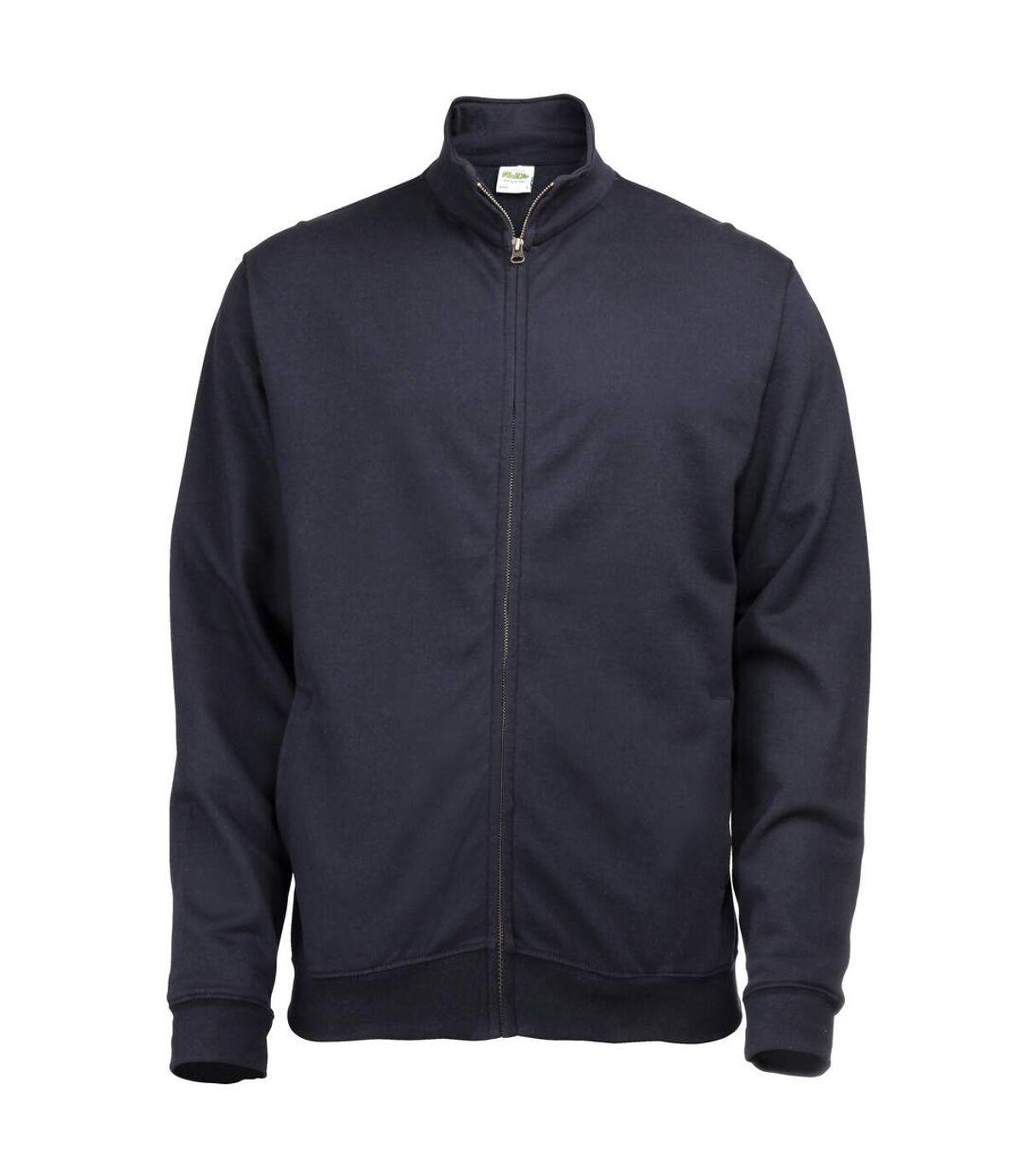 Awdis Mens Plain Fresher Full Zip Sweat / Sweatshirt / Outerwear (Burgundy) - UTRW178