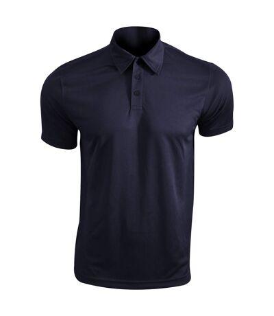 Kariban Proact Mens Short Sleeve Performance Polo Shirt (Fine Grey) - UTRW4246