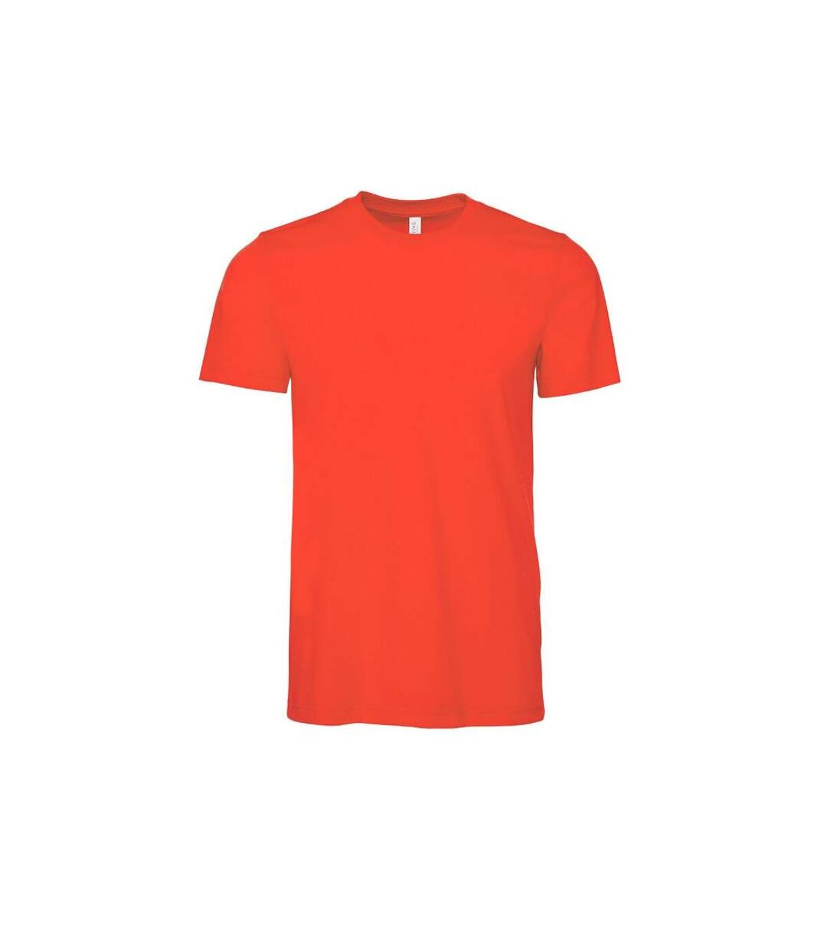 Canvas Unisex Jersey Crew Neck T-Shirt / Mens Short Sleeve T-Shirt (Poppy) - UTBC163