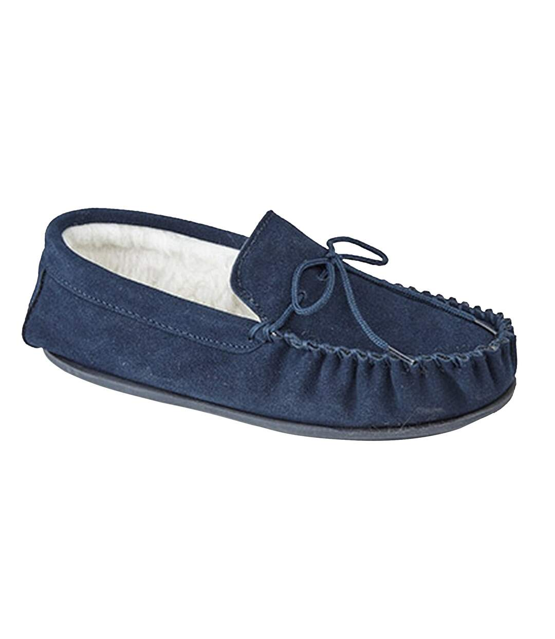 Mokkers Oliver Chaussons Style Mocassins Homme (Bleu marine) UTDF1117