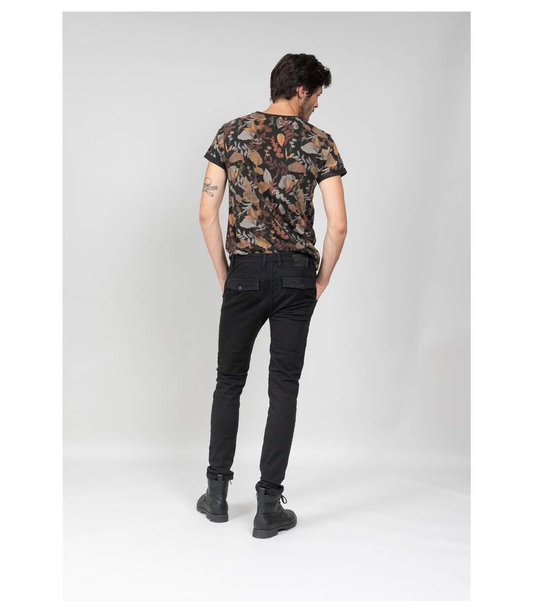 Jeans skinny noir SKILO Black