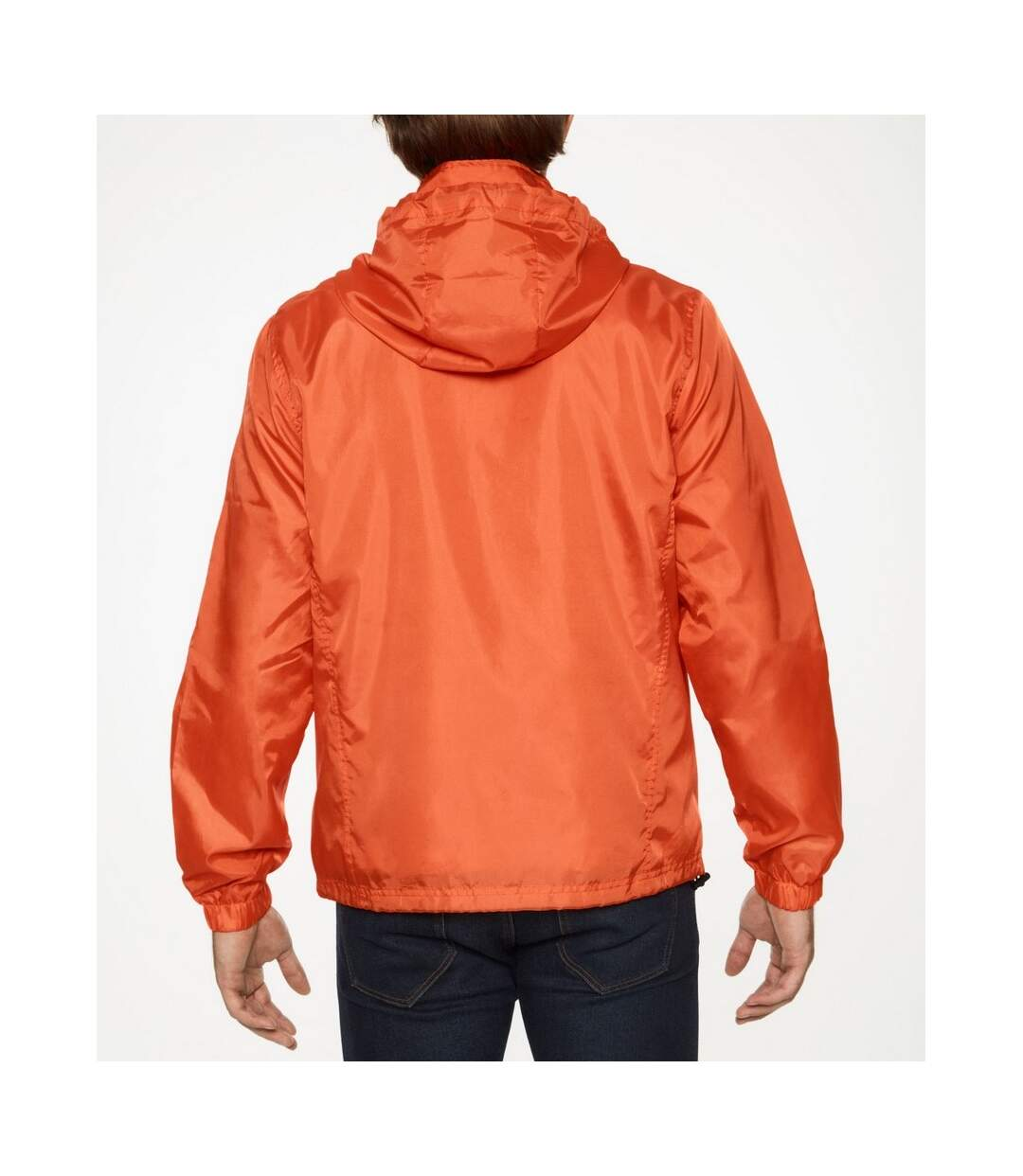 Gildan Mens Hammer Windwear Jacket (Orange) - UTPC3988